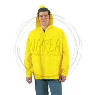 Giacca antipioggia gialla